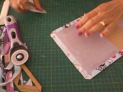 Como fazer  lindas peças  aproveitando   sobras do holler