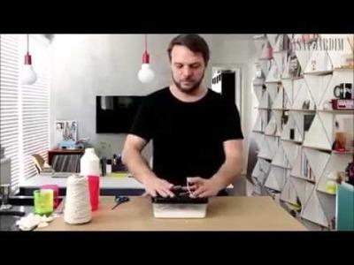Como fazer um lustre Simples