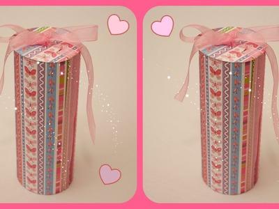 Como fazer uma linda caixa de presente!!!! Muito fácil!!!