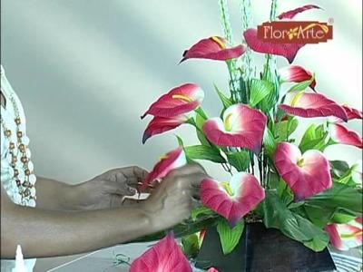 Cursos Flor Arte - Arranjo Para Coluna