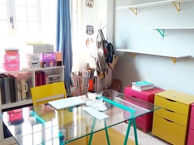 Dicas de Organização e Decoração Ateliê Parte 2 Mania de Artesanato