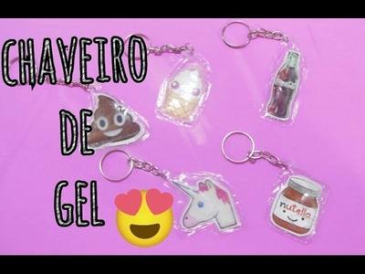 DIY - CHAVEIRO DE GEL ( FAÇA VOCÊ MESMO )
