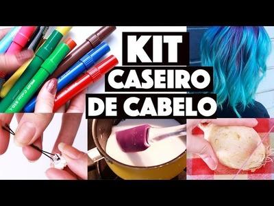 KIT DE CABELO CASEIRO #2 -  O MELHOR LANÇAMENTO DE 2017 HIHI