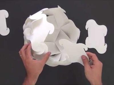 Lustre IM Light - Montagem e colocação de lâmpada.