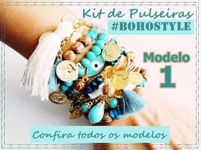 Semana de #videostododia - Kit #BohoStyle Modelo 1   |   AnaGGabriela