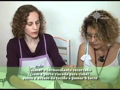 ARTE MINHA - AULA DE PATCH APLIQUE
