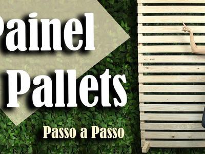 Como fazer um Painel de Pallets para Festa Infantil | Andreia Faleiros