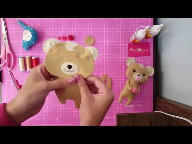Como fazer Ursinho em Feltro