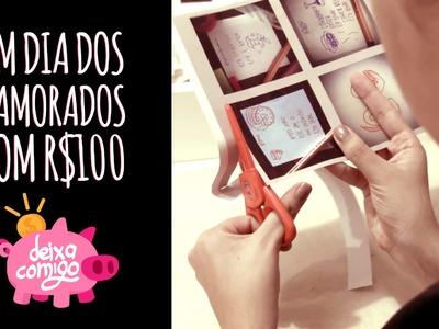 Jantar e decoração Românticos com R$100 - Dia dos Namorados - Deixa Comigo - DIY
