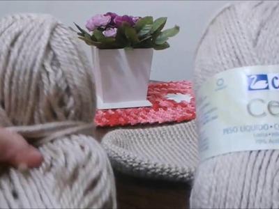 Meia de crochê (Bem fácil)