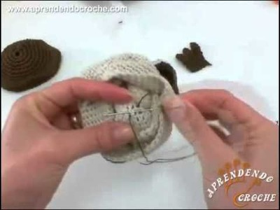 Peso de Porta em Croche   2º Parte   Amigurumi Coruja de Croche