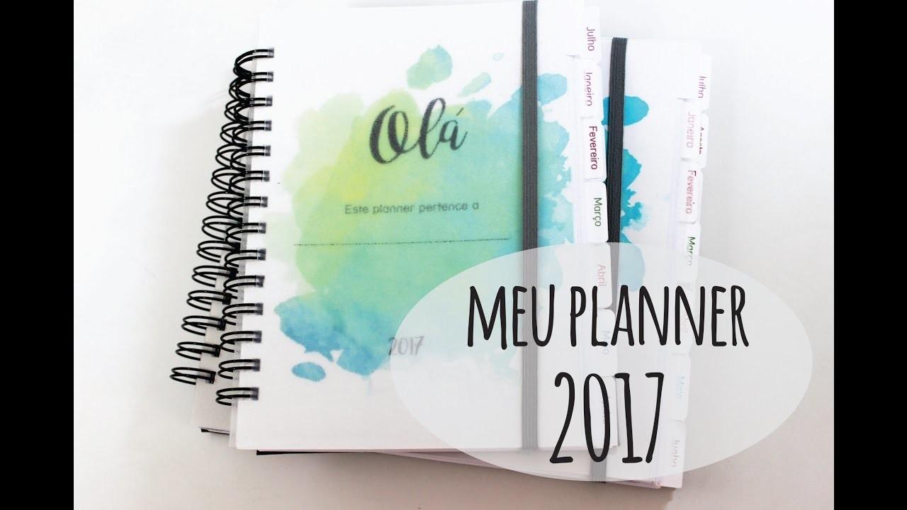 Planner 2017 {DOIS MODELOS EXCLUSIVOS} download gratuito