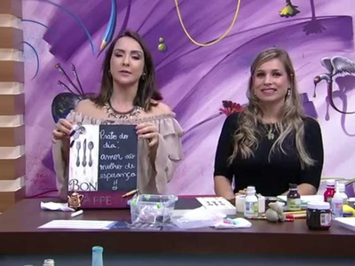 Quadro gourmet com lousa P2    Camila Claro De Carvalho Mulher com   21 10 2015