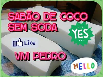 SABÃO DE COCO POTENTE SEM SODA