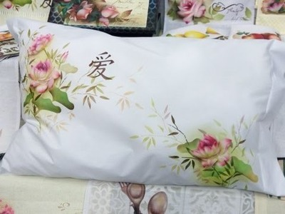 Stencil OPA - 06.05.16 - Mayumi Takushi - Tecido Flor de Lótus