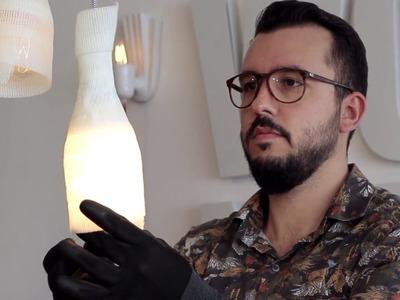 Tente Isso Em Casa: Aprenda a fazer um pendente de fita de gesso