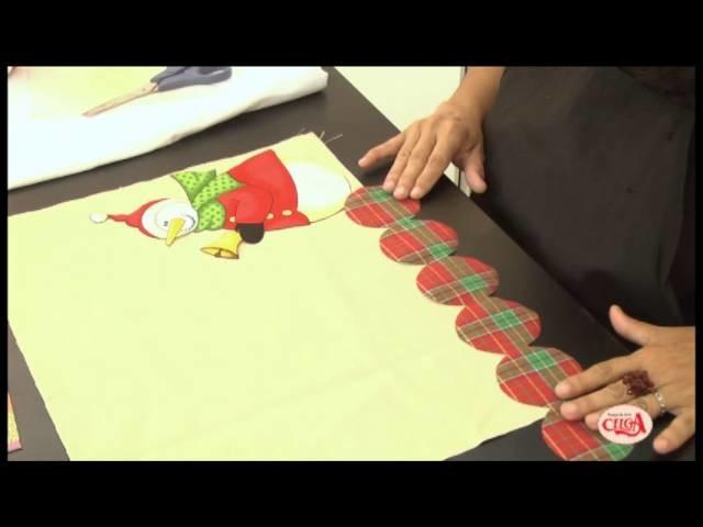 Alciana Rossi ensina montar um jogo americano com Decore fix e as reguas da Isamara Custódio.