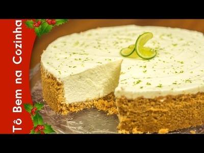 CHEESECAKE DE LIMÃO - Receita de cheesecake de limão (Episódio #94)