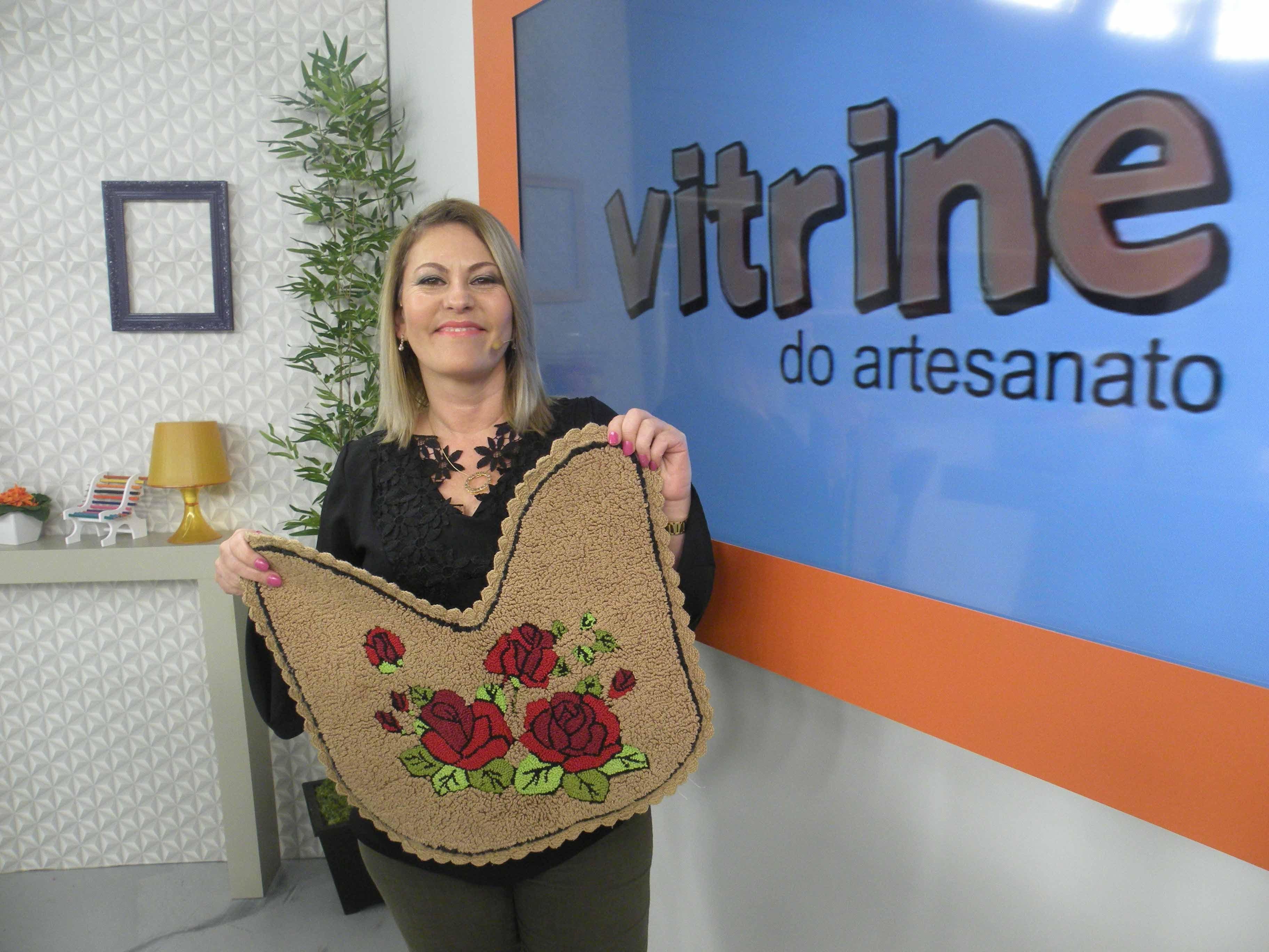 Conjunto de Banheiro em Agulha Mágica com Tânia Silva | Vitrine do Artesanato na TV