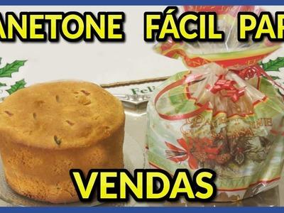PANETONE  FÁCIL PARA VENDAS