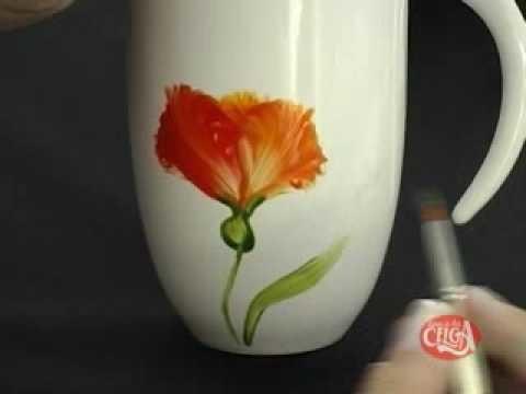 Pintura em porcelana - parte 2