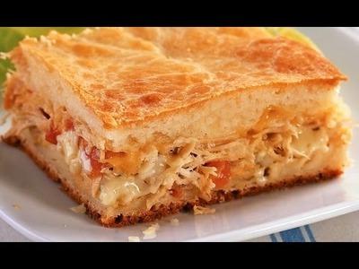 Torta de Frango! Super fácil!  #apimentadanacozinha