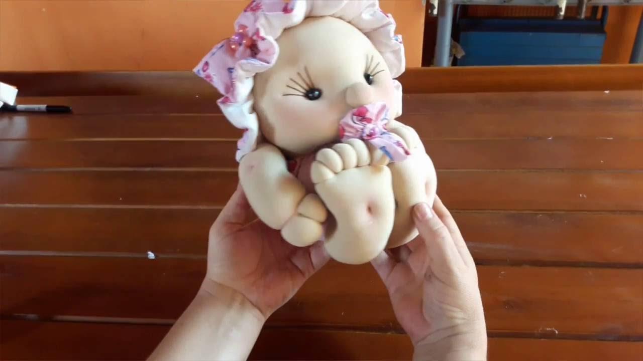Bebê em tecido