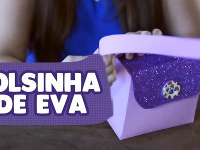 Bolsinha de EVA com Moldes | Lembrancinha