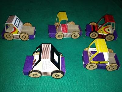 Carros de Caixas #03 de Fósforos Como Fazer