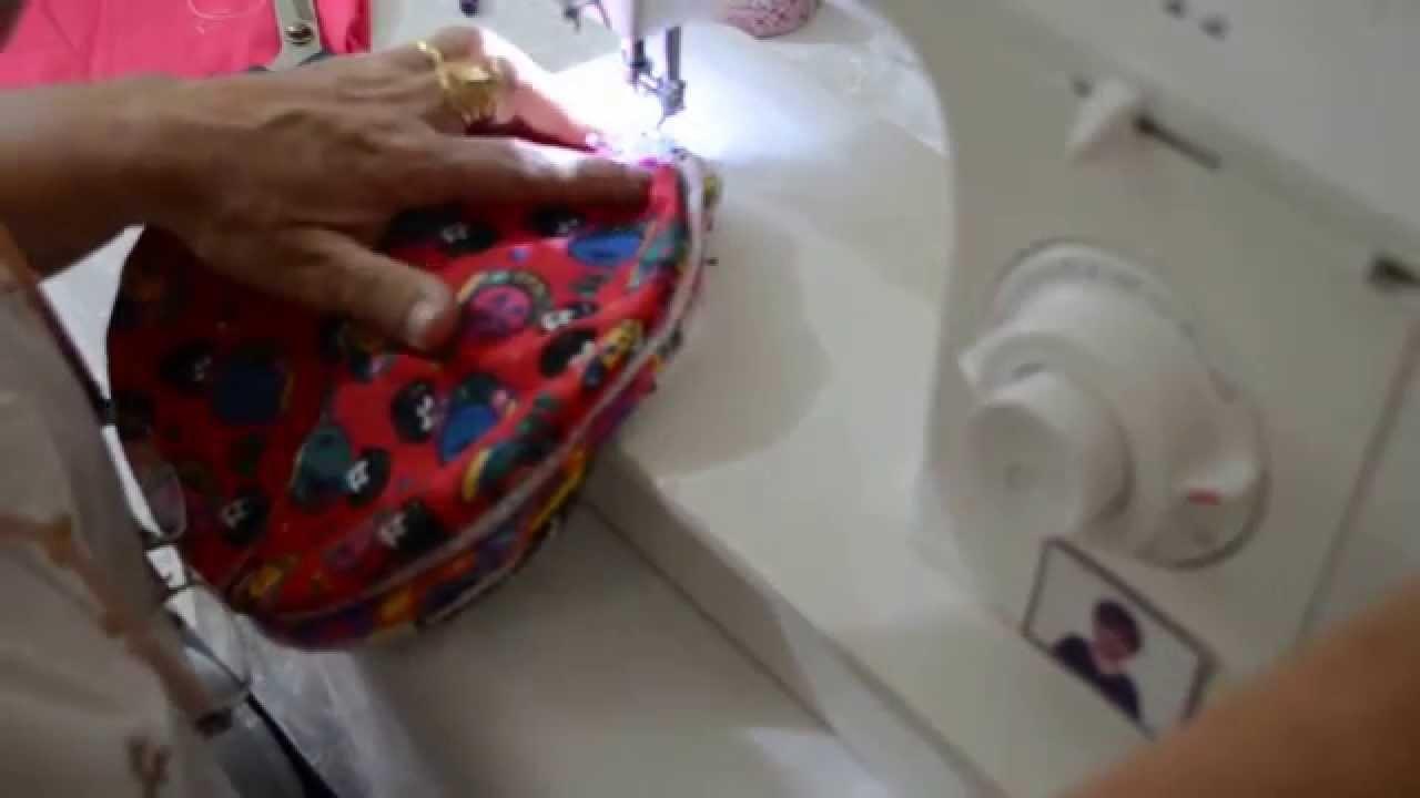 DIY : Como fazer uma bola de tecido para criança.