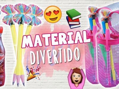 DIY MATERIAL ESCOLAR 2017 #1