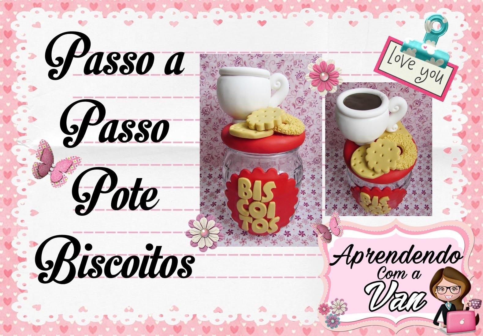(DIY) PASSO A PASSO POTE BISCOITOS MARATONA POTES #9