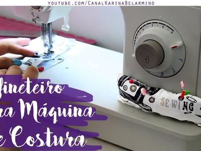 Alfineteiro Mega Útil para Máquina de Costura | Fácil