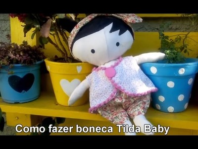 Boneca Tilda Baby Passo a Passo