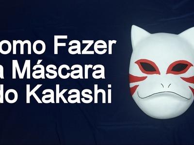Como Fazer a Máscara do Kakashi para Cosplay - Dicas de Cosmaker