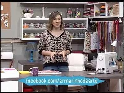 Como fazer um pano de prato decorado - parte 1