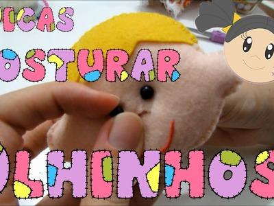 Costurar Olhinhos em Bichinhos e Bonecas - Dicas para Iniciantes com Priscila Cunha
