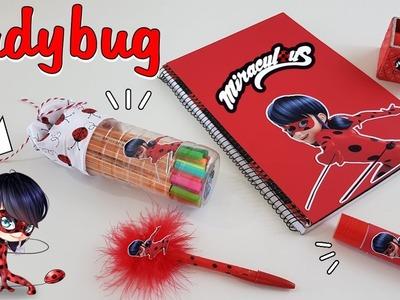 DIY |5 ideias incríveis para fazer com material escolar | Ladybug