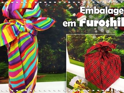 EMBALAGENS EM FUROSHIKI com Afonso Franco - Programa Arte Brasil - 23.12.2016
