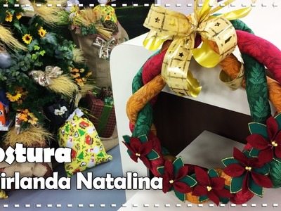 GUIRLANDA RAMI com Renata Avian - Programa Arte Brasil - 21.12.2016