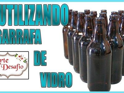#11 - #Arteedesafio - D.I.Y - XÍCARA DE VIDRO