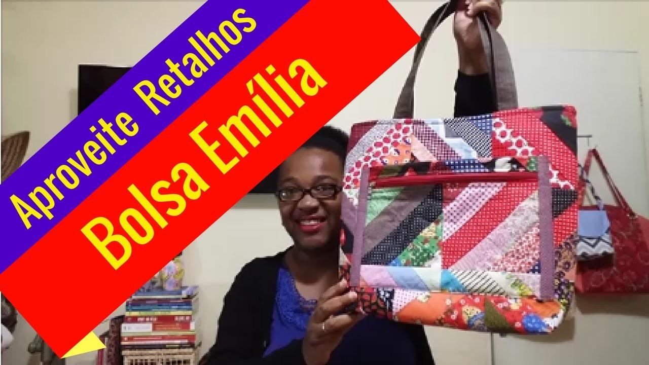 Aproveite os Retalhos#2 DIY. Passo a Passo Bolsa Emília