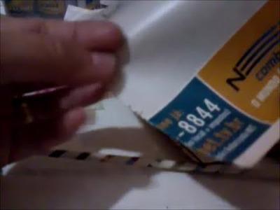 Cestaria de jornal e técnicas de pintura - 27.08.13.