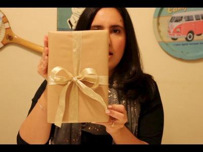 Como fazer o tradicional laço de presente com fita