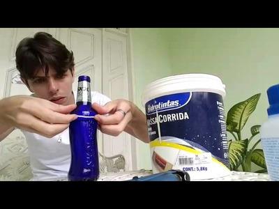 Como fazer um copo com uma garrafa de skol beats
