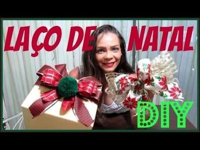 DIY | COMO FAZER LAÇO DE NATAL |LETICIA ARTES