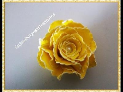 DIY- Rosa de Eva Sem Frisador (Beliscada)