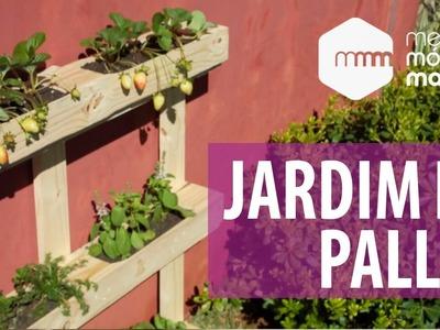 Especial Primavera - Jardim de Pallet