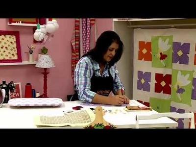 Programa Ateliê na Tv - Prancheta em Cartonagem - Ana Cristina