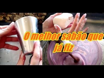 Sabão caseiro  de vinagre muito fácil
